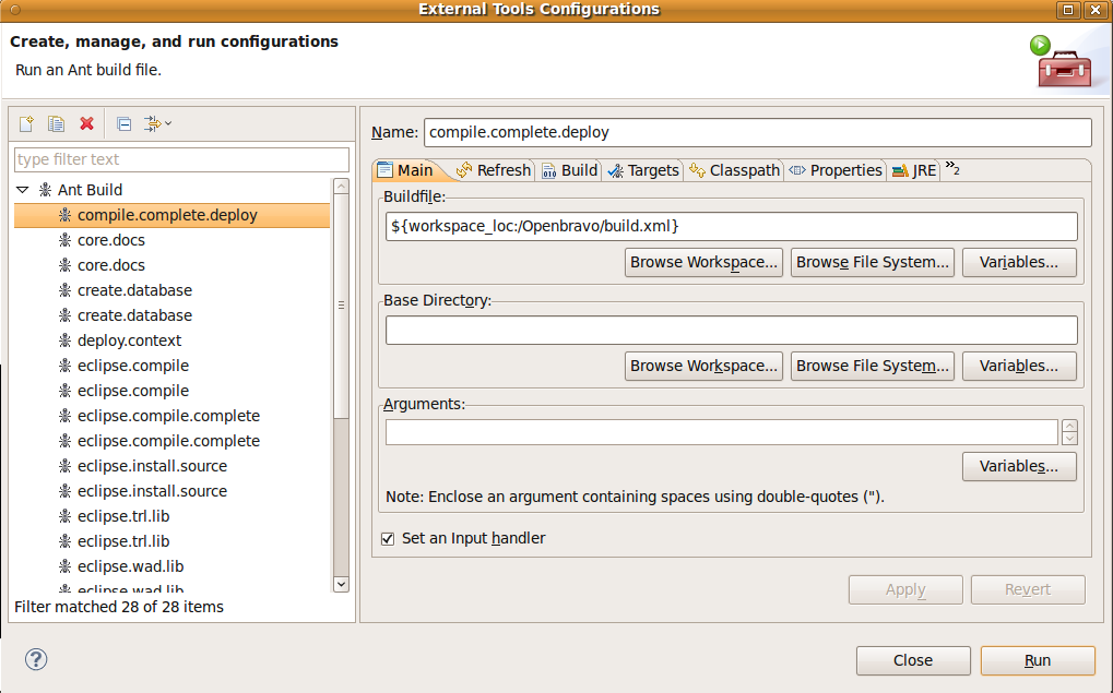 Openbravo Environment Setup in Eclipse | Openbravo Technical Blog