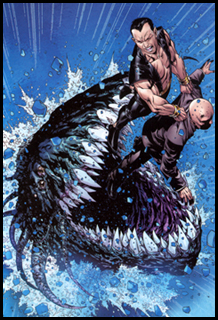 This image of NAMOR and PROFESSOR XAVIER is here for absolutely no good reason...