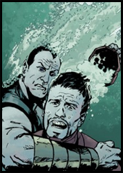 IRON MAN finds himself in big trouble at the hands of SUB-MARINER in the NEW AVENGERS: ILLUMINATI special!
