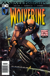 Cover to WOLVERINE #20!