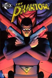 JOHN CASSADAY cover to MOONSTONE BOOKS' first issue of their on-going exploits of the PHANTOM!