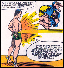 Beast's abilities prove to be good enough to get him one spot over the Sub-Mariner!