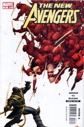 ELEKTRA is revealed to be a Skrull in NEW AVENGERS #31!