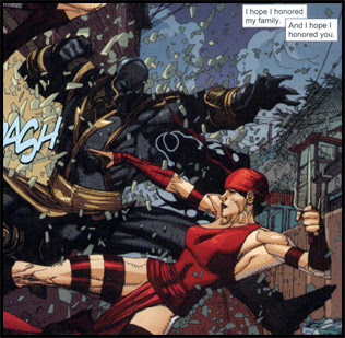 ECHO appears as RONIN in the pages of NEW AVENGERS #27.