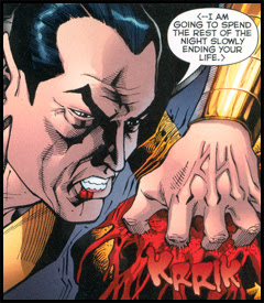 Black Adam: Possessing of a warm spirit, motivated to do terrible things.