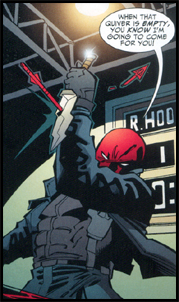 RED HOOD dances with SPEEDY in the pages of GREEN ARROW #72!