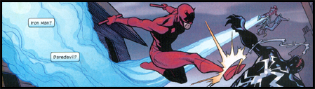 Here comes... DAREDEVIL! We haven't forgotten you, DD!