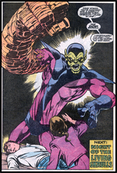 The Skrulls are about to be everywhere, and Super-Skrull has made a preemptive rise to the top with a win last Punch-Up!