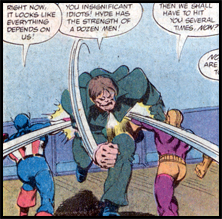 Little known fact: Batroc likes his shorts TIGHT.