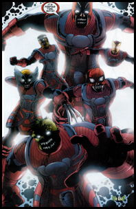 The Zombies are reborn as THE GALACTUS; a group of ever-hungry cosmic beings; first seen in MARVEL ZOMBIES #5!