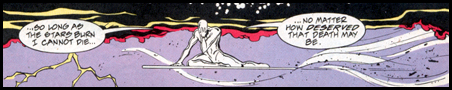 SILVER SURFER mourns his victory over the AVENGERS: Seen first in WHAT IF...? #70!