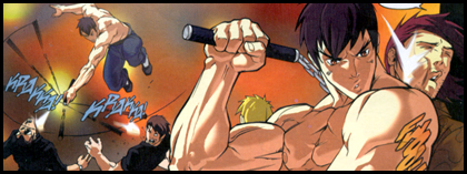 Shades of Bruce Lee as FEI LONG launches into action against seedy gangsters: As seen in STREET FIGHTER #8!