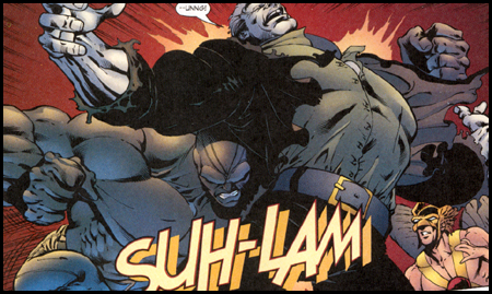 SUH-LAM! You've got to love a sound effect that's both IMPACTFUL and DESCRIPTIVE, 'ey Bully?