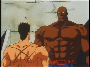 SAGAT and RYU in a prison face-off in episode 9!