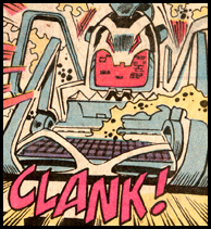The TURINO XL PC morphs to become ULTRON XI in FANTASTIC FOUR #331. This is why you don't buy no name brands!...