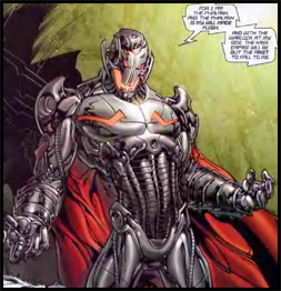 ULTRON as he appears in ANNIHILATION CONQUEST #1, as leader of the PHALANX.