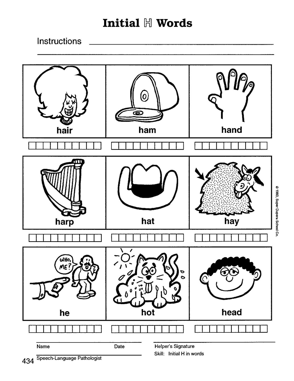 Speech Therapy With Miss Nicole H Initial Words