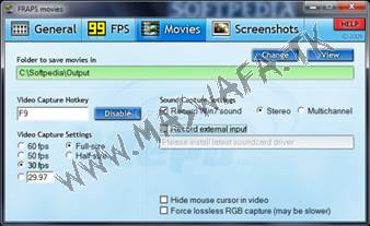Fraps 2.7.4 full registered download pc