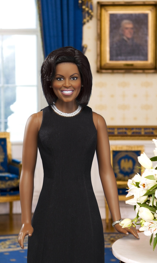 Black Doll Collecting: Franklin Mint's Michelle Obama ...
