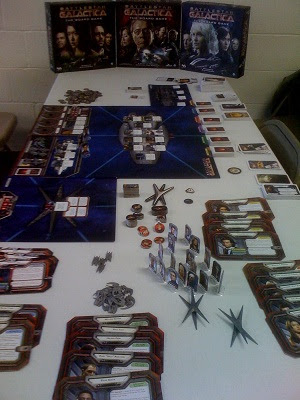 Battlestar Galactica board game with all expansions