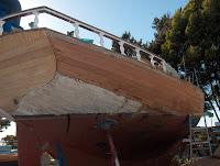 mahogany hull