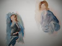 Some Gesture Paintings,