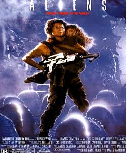 Aliens movi poster