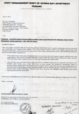 Serina Bay Apartment Penang Residence Complaint: My