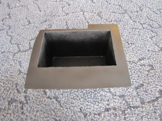 Here Is The Finished Battery Box Painted With Rubberized Undercoating Inside