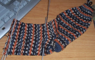 Derek's Tiger Sock