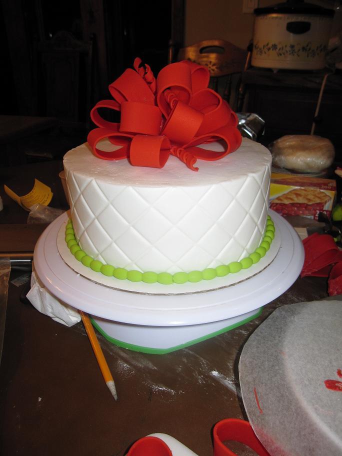 Christmas Cake Workshop