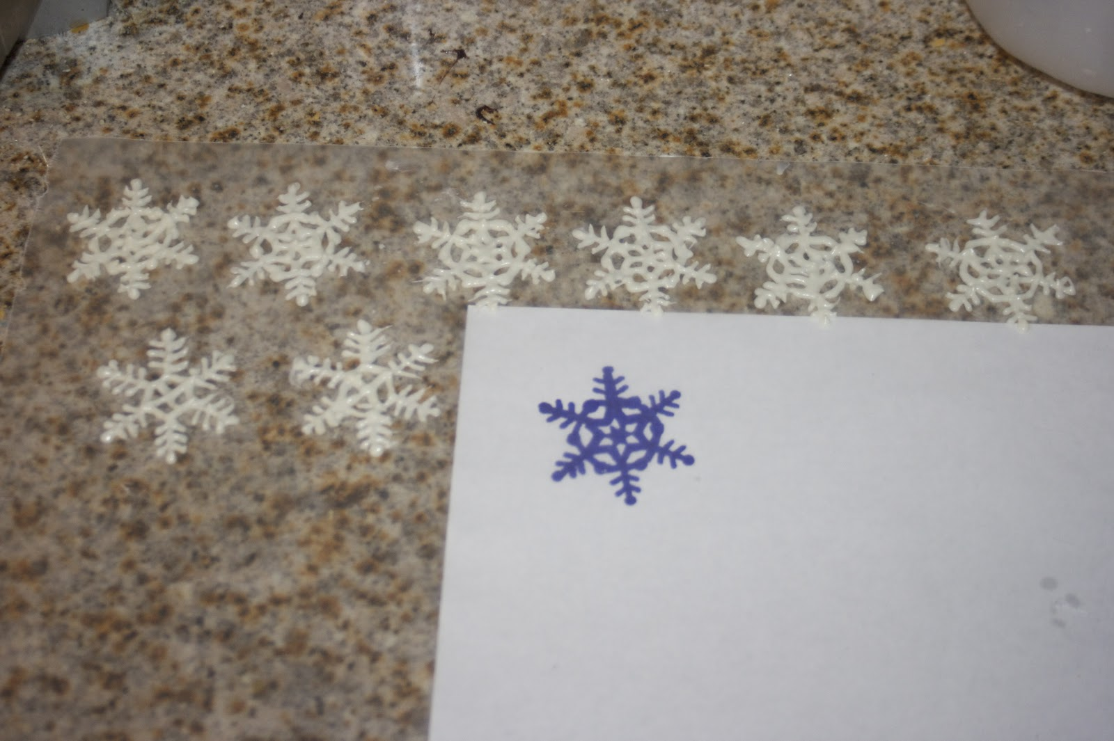 Sharing The Wealth White Chocolate Snowflakes
