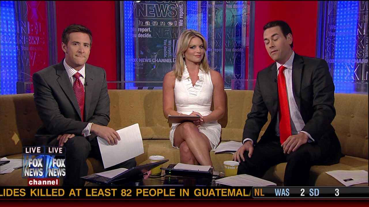 Crossed Legs Fox And Friends