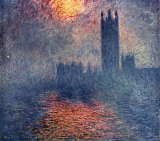Claude Monet, Lontoon parlamenttitalo, 1904