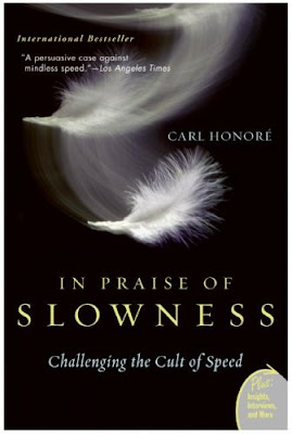 book cover - In Praise of Slowness