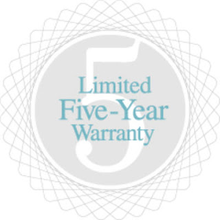 5 year limited warranty logo