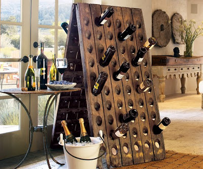 Superbe But Riddling Racks, Or Pupitres, Are Also Making Their Way Into Homes,  Where People Are Using Them For Wine Storage. Sometimes The Racks Are Old  Ones; ...