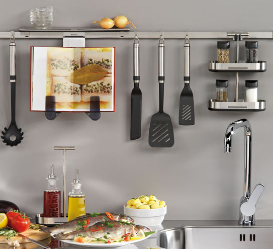 Delicieux Kitchen Rail System