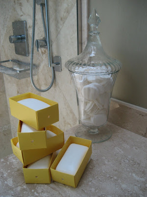 yellow soap boxes