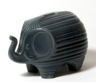 black elephant bank