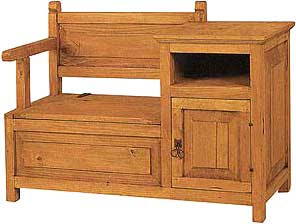 telephone bench