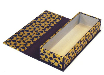 pencil box made with Japanese paper