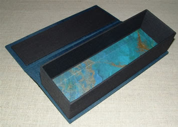 blue pencil box