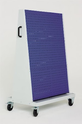 pegboard trolley