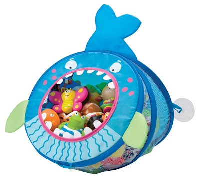 bath toy organizer - whale