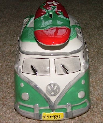 VW camper van money box