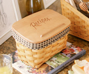 recipe basket