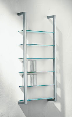6-shelf CD rack holding 40 CDs per shelf