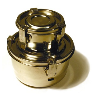 airtight stainless steel food containers
