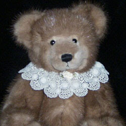 teddy bear from fur coat / stole